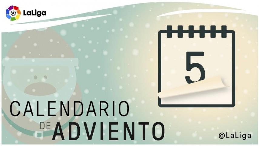 Calendario de Adviento de LaLiga: 5 de diciembre
