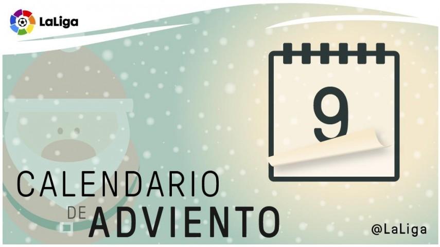 Calendario de Adviento de LaLiga: 9 de diciembre