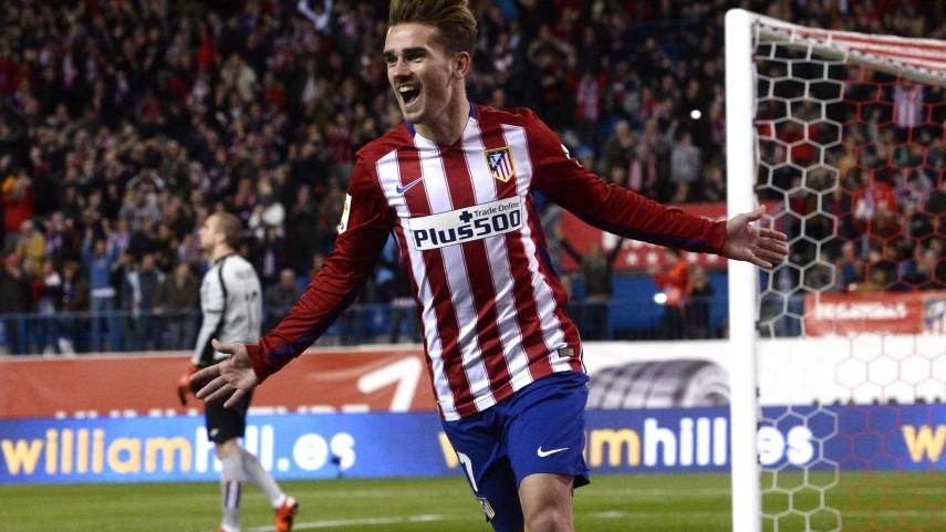 Griezmann mantiene al Atlético en la segunda plaza