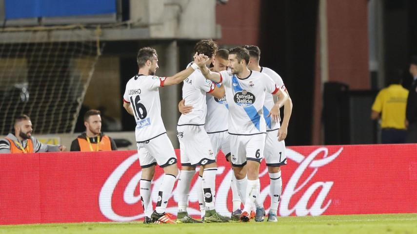 El Deportivo prosigue su escalada