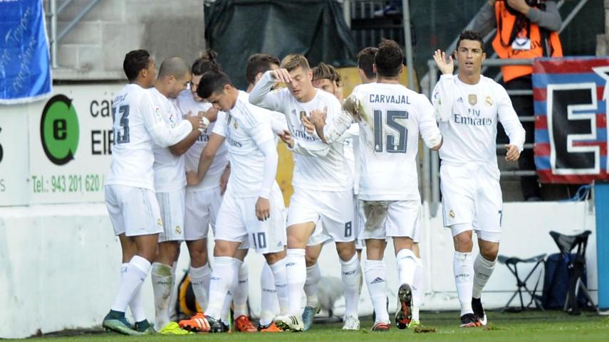 El Real Madrid se redime en Ipurua