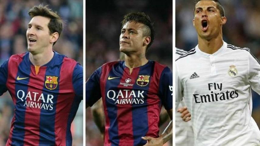 Messi, Cristiano Ronaldo y Neymar, finalistas del Balón de Oro 2015