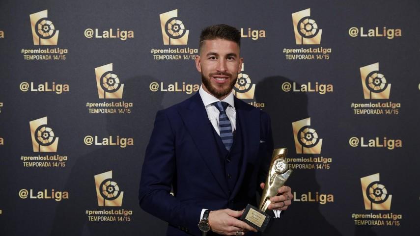 Sergio Ramos, 'Mejor Defensa de la Liga BBVA 2014/15'