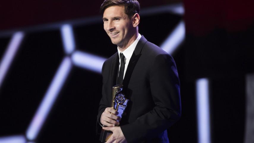 Lionel Messi, 'Mejor Delantero de la Liga BBVA 2014/15'