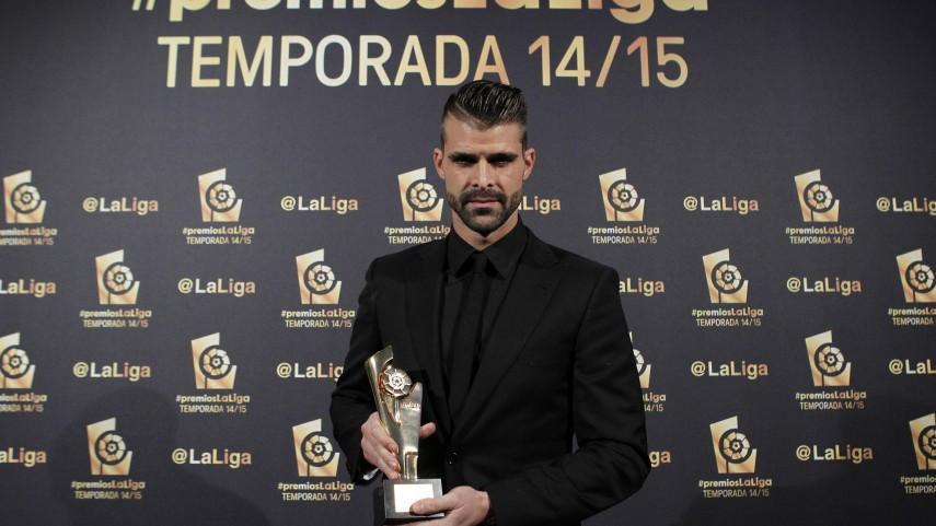 Iván Cuéllar, 'Mejor Portero de la Liga Adelante 2014/15'