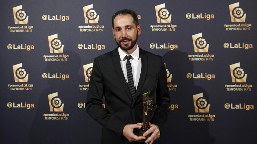 Pablo Machín, 'Mejor Entrenador de la Liga Adelante 2014/15'