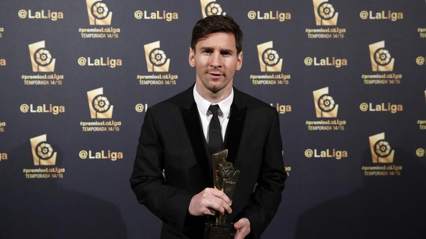 Lionel Messi, 'Mejor Jugador de la Liga BBVA 2014/15'