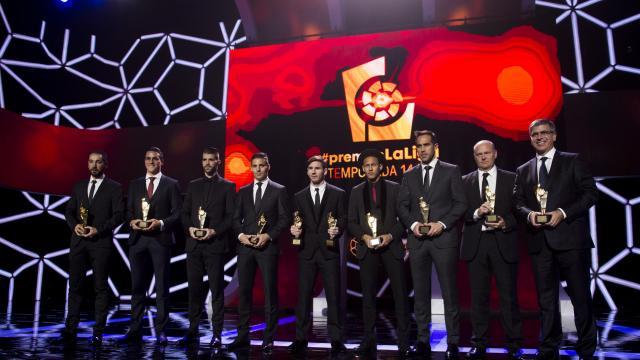 #PremiosLaLiga: Disfruta de todos los vídeos de la Gala