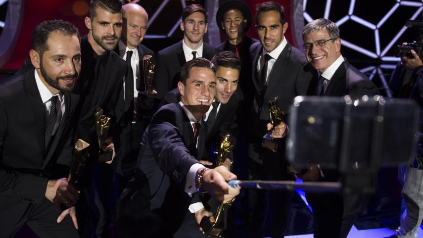 Los galardonados de los #PremiosLaLiga acumulan casi 500 millones de seguidores en las redes