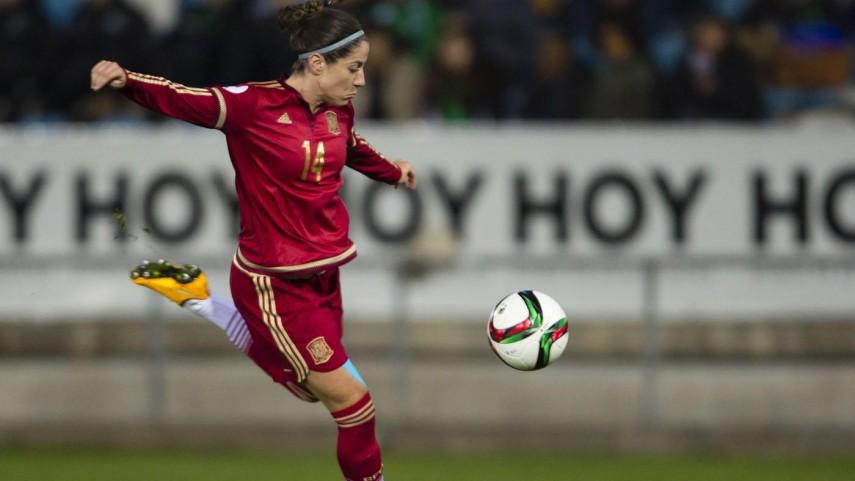 España termina invicta la primera vuelta hacia la Eurocopa femenina