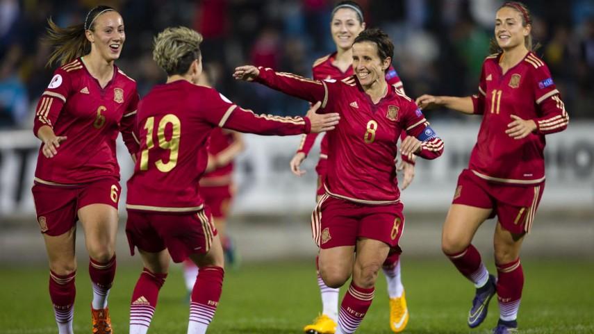 Tercera victoria de la selección femenina en su camino hacia la Eurocopa