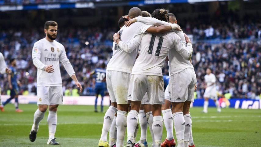 El Real Madrid brilla ante el Getafe
