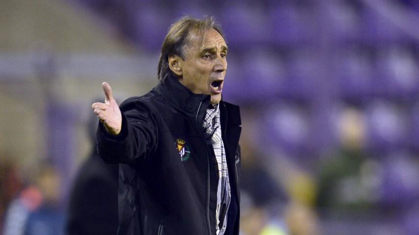 Miguel Ángel Portugal, destituido como entrenador del Real Valladolid
