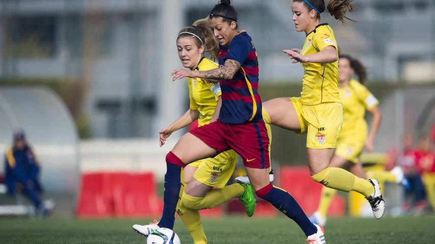 Jenni Hermoso, máxima goleadora de la Primera División Femenina