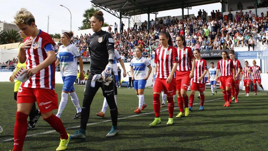 Novena victoria consecutiva del Atlético para seguir líder de la Primera División Femenina