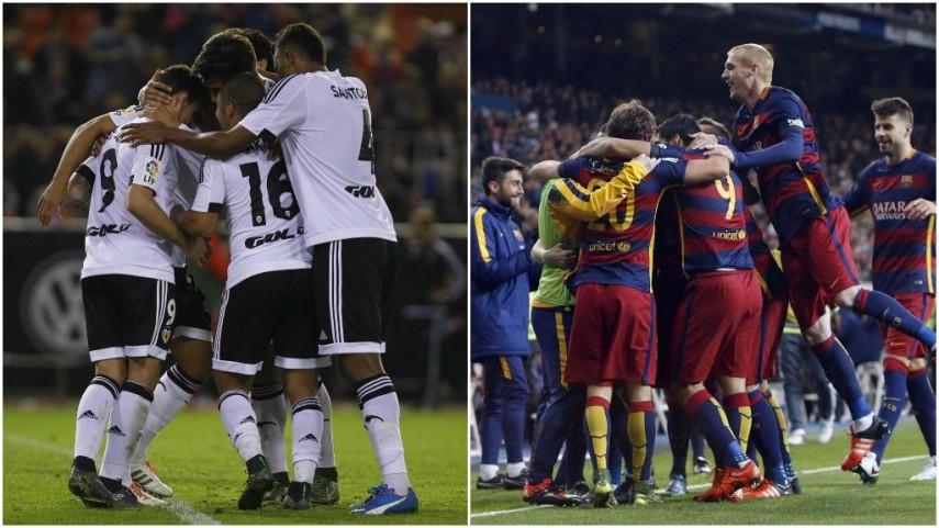 El Valencia busca el pase a octavos de la Champions y el Barcelona quiere otra victoria