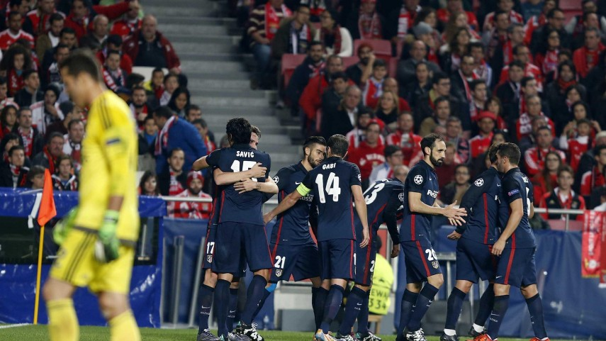 Liderato para el Atlético, billete europeo para el Sevilla y goleada del R. Madrid en la Champions