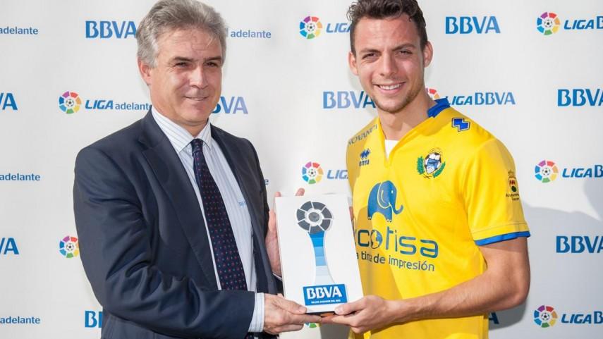 Óscar Plano, mejor jugador de la Liga Adelante en noviembre