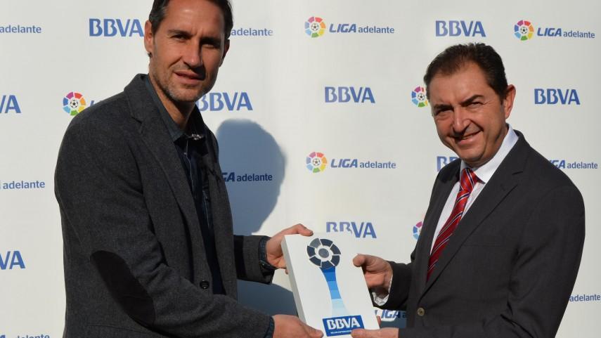 Vicente Moreno, mejor técnico de la Liga Adelante en noviembre