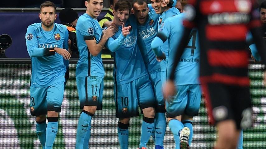Empate del Barcelona y amargo adiós del Valencia a la Champions League