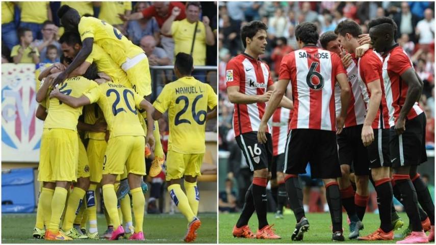 El Villarreal busca el liderato de su grupo y el Athletic sumar una nueva victoria en Europa League