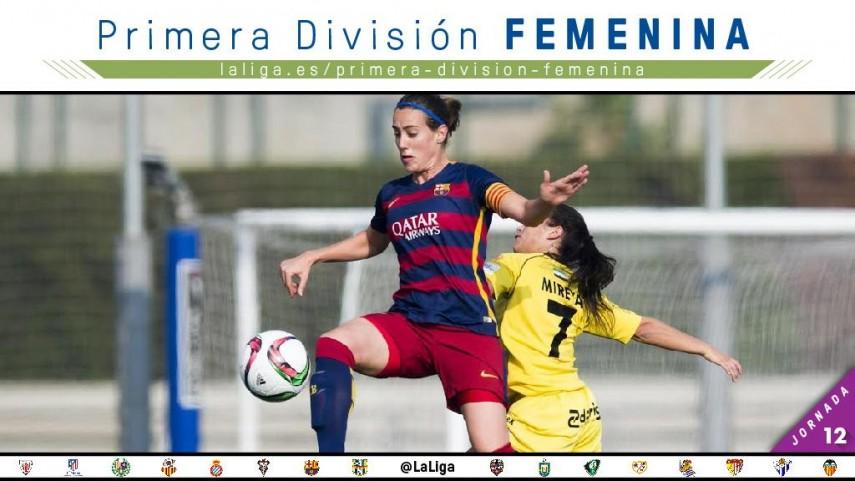 El Real Sociedad - FC Barcelona, protagonista de la jornada 12 de la Primera División Femenina