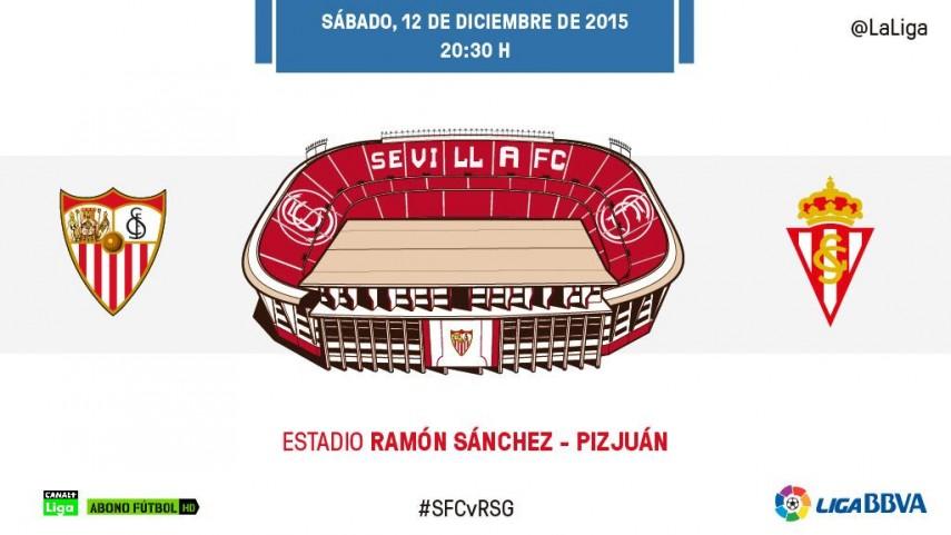 El Sporting mide la solidez del Sevilla en el Sánchez-Pizjuán