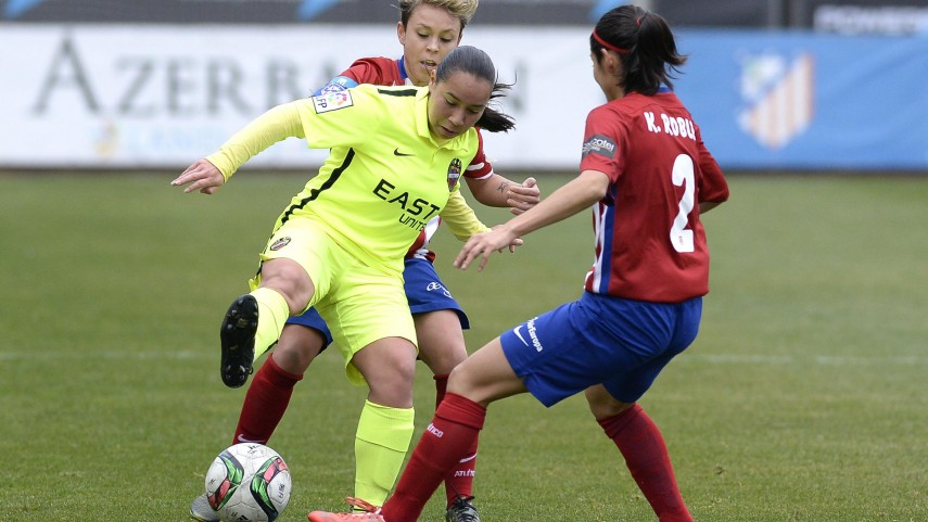 Charlyn, Jenni Hermoso y Mari Paz, máximas goleadoras de Primera División Femenina