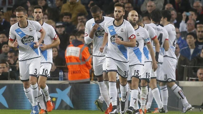El RC Deportivo vuelve a ser feliz en el Camp Nou
