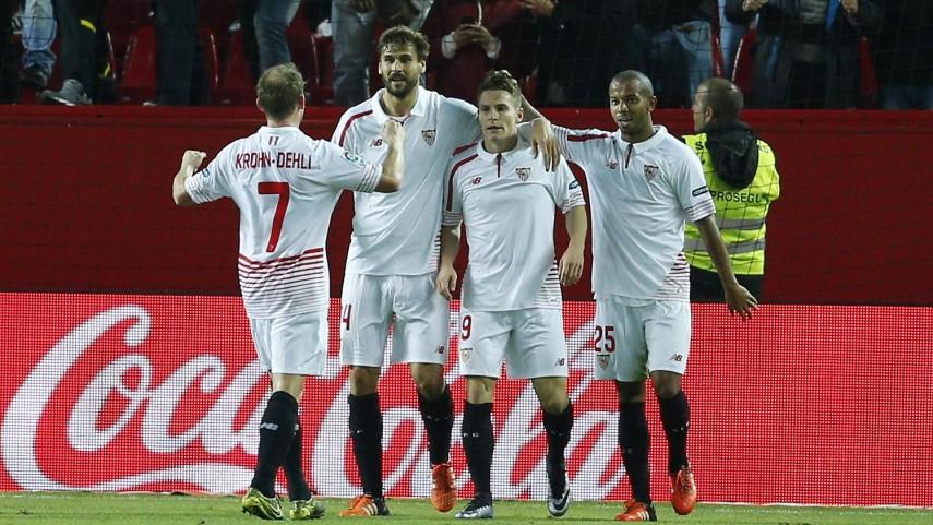Gameiro guía la victoria del Sevilla