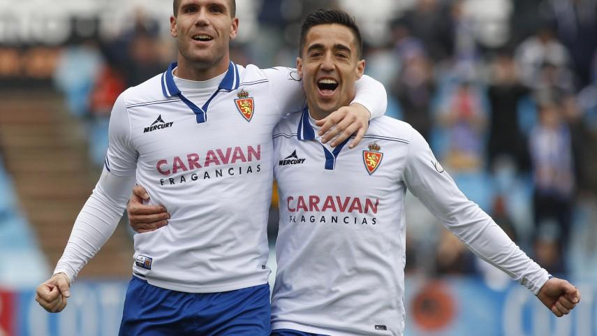 Alfredo Ortuño, un seguro goleador para el Real Zaragoza