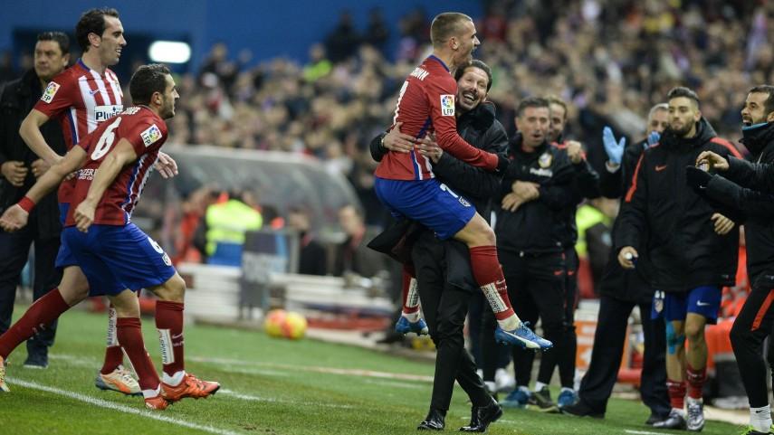 Remontada vital del Atlético de Madrid