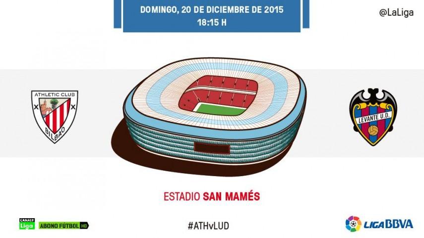 Athletic - Levante: 'Misión escalada'