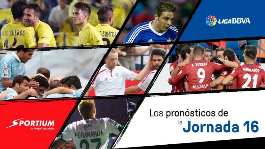 Los pronósticos de la jornada 16 de la Liga BBVA