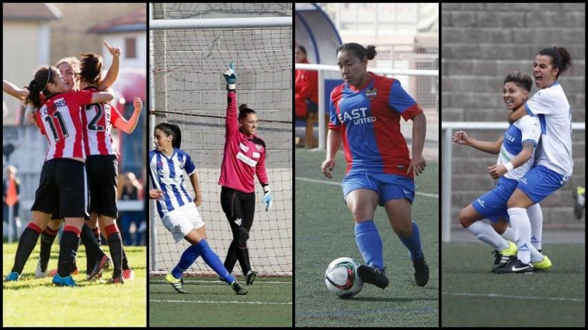 Así queda la Primera División Femenina antes del parón navideño