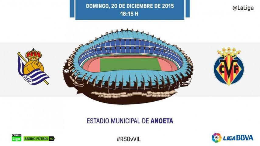 El Villarreal, a la conquista del fortín de la Real Sociedad