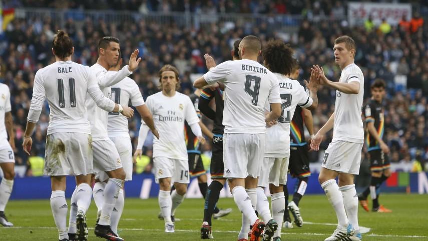 Tarde de goles en el Santiago Bernabéu