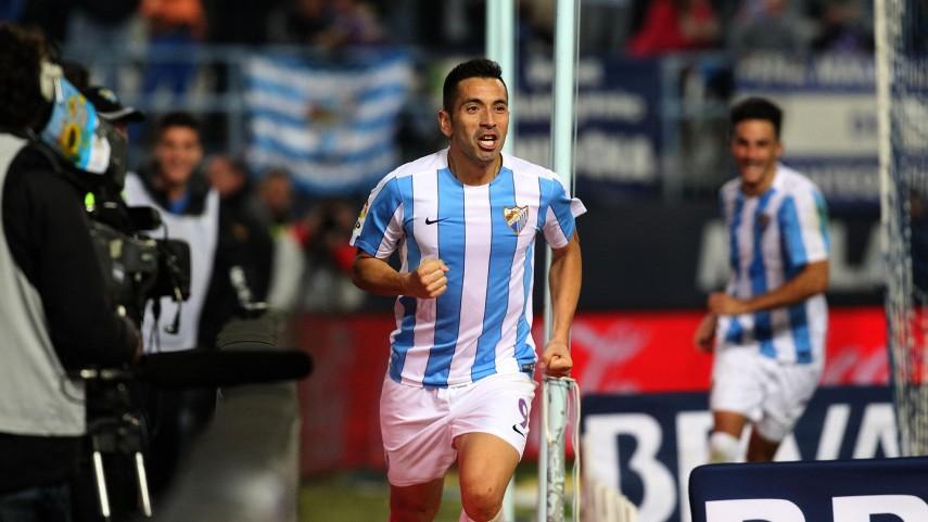 El Málaga se interpone en el camino al liderato del Atlético