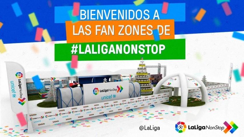Conoce todas las Fan Zones de #LaLigaNonStop