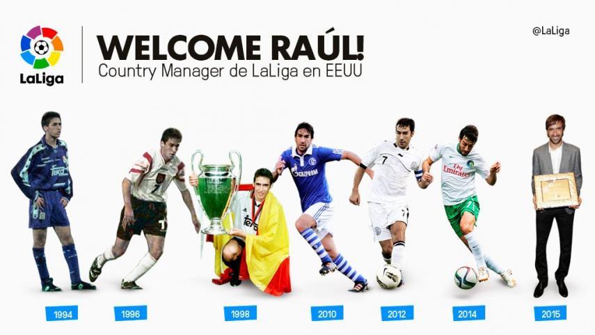 Raúl, nuevo Country Manager de LaLiga en Estados Unidos