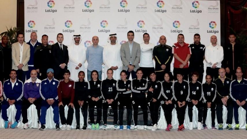 LaLiga, con el fútbol de Abu Dhabi