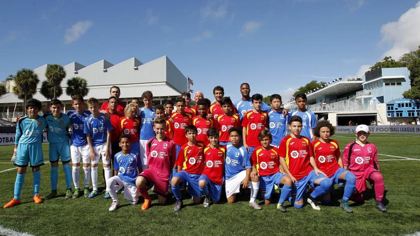 Festival de goles antes de la final de #LaLigaPromises