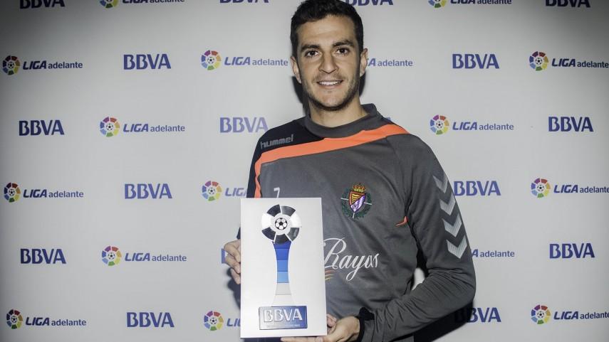 Juan Villar, mejor jugador de la Liga Adelante en diciembre