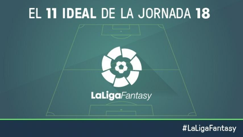 Once ideal de LaLiga Fantasy en la jornada 18