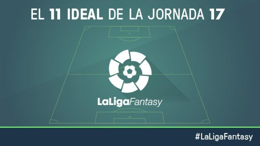 Once ideal de LaLiga Fantasy en la jornada 17