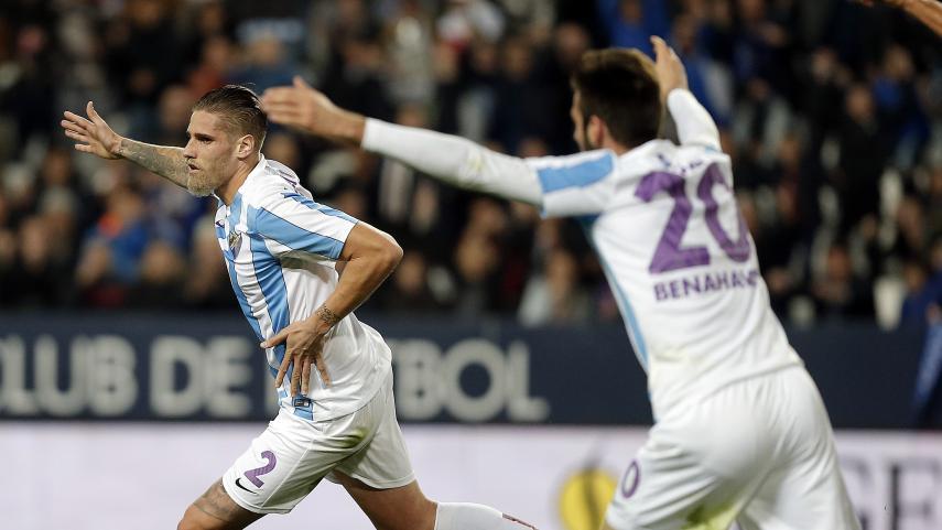 Charles y Albentosa confirman la mejoría del Málaga