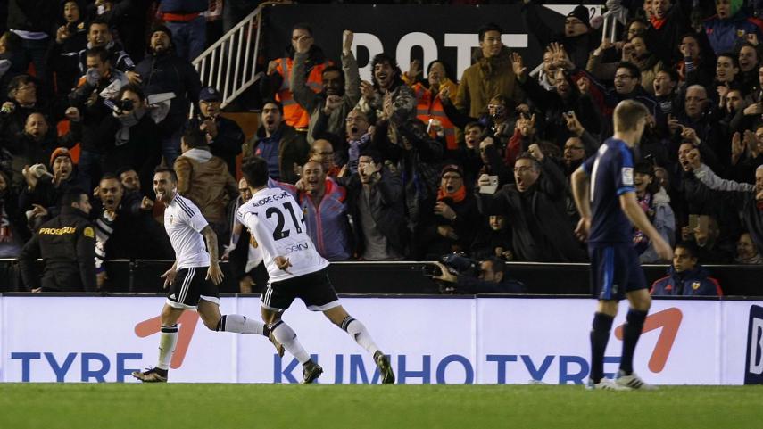 El Valencia sigue sin perder en Mestalla