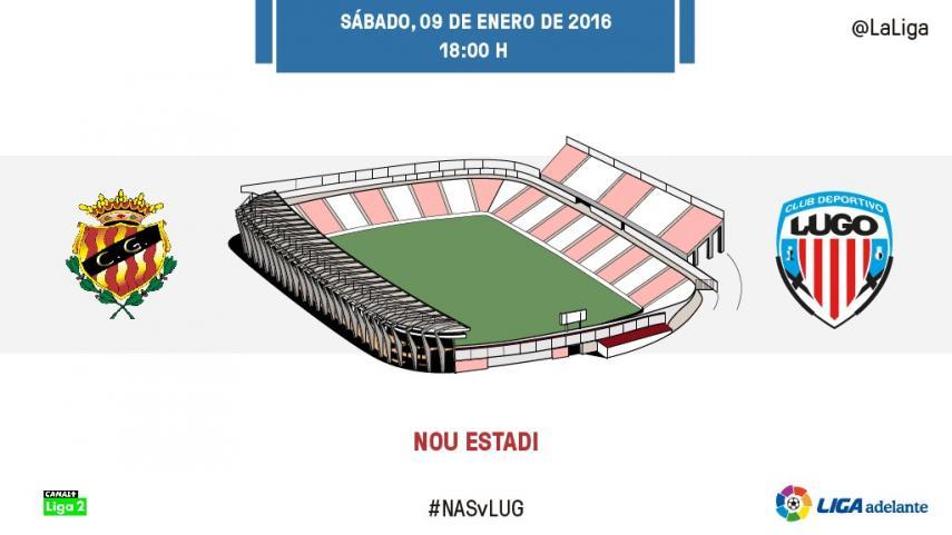 Duelo por los puestos de play-off entre Gimnàstic y CD Lugo