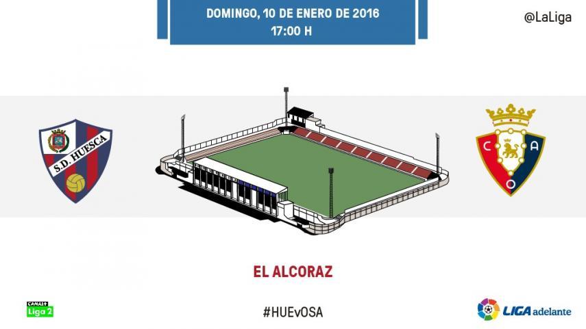 La SD Huesca quiere reencontrarse con El Alcoraz