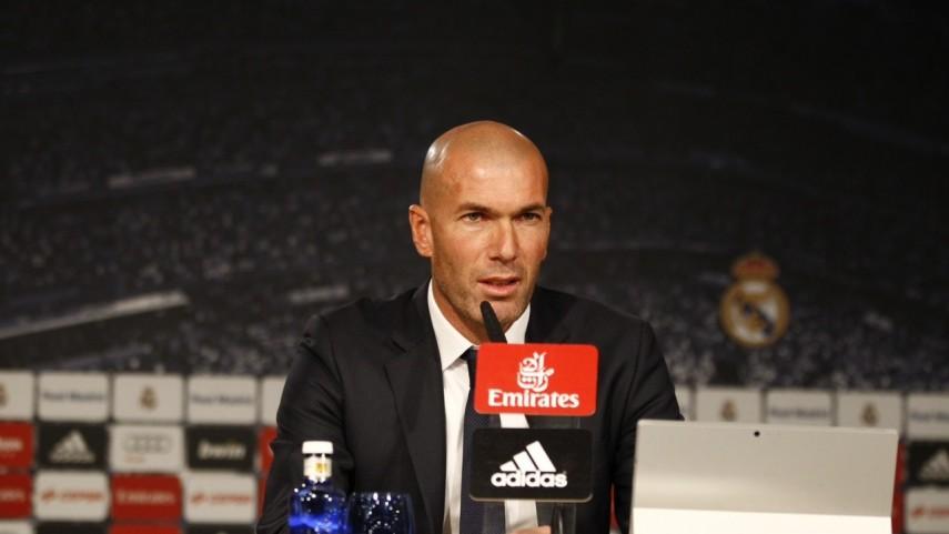 La primera rueda de prensa de Zidane como entrenador del Real Madrid, en 10 frases